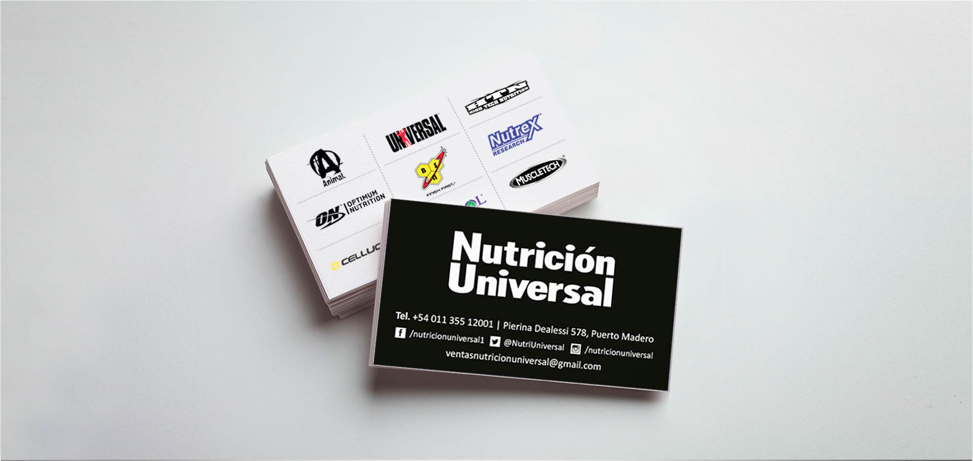 Nutrición Universal